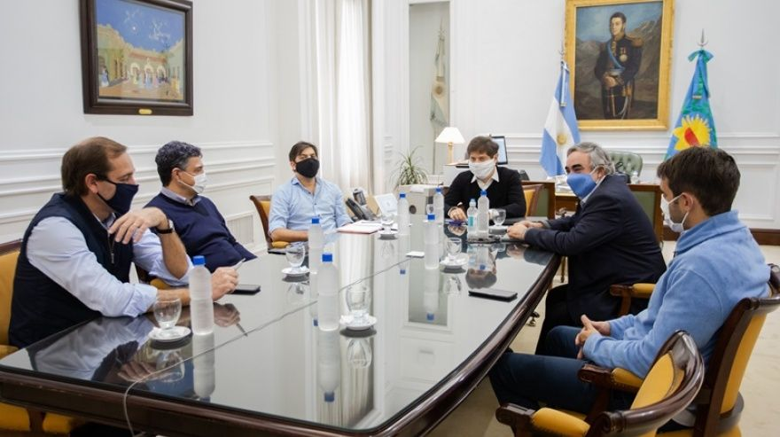 Photo of Kicillof con intendentes de Juntos por el Cambio