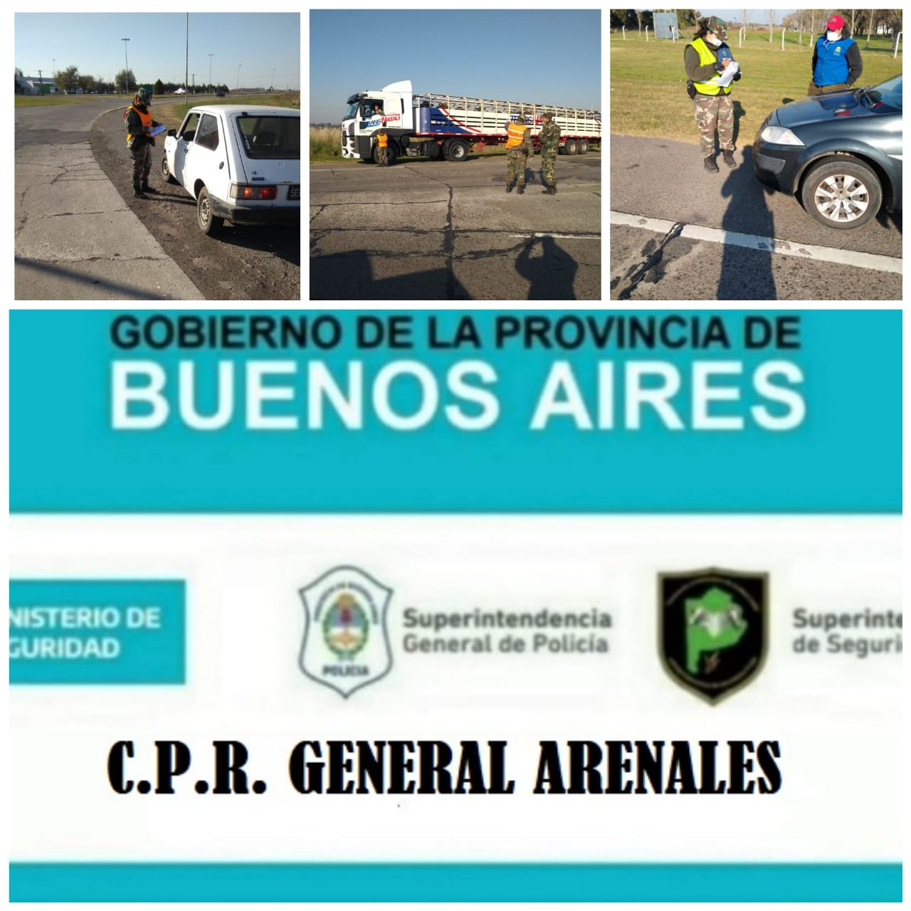 Photo of Policiales: parte de prensa C.P.R General Arenales