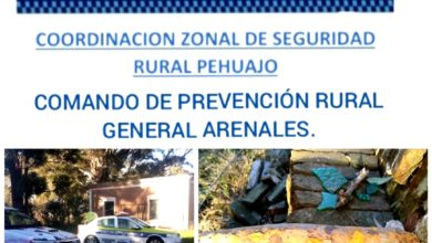 Photo of General Arenales: hallazgo presunto artefacto explosivo